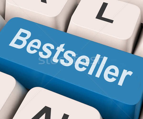 Bestseller Key Shows Best Seller Or Rated Stock photo © stuartmiles