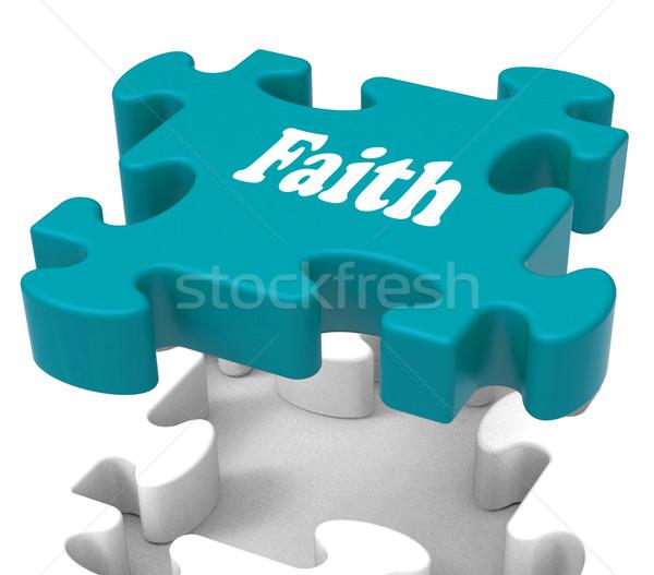 Fede religiosa convinzione fiducia Foto d'archivio © stuartmiles