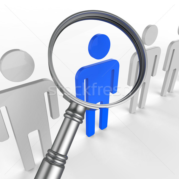 Finding Staff Represents Strong Point And Brilliance Stock photo © stuartmiles