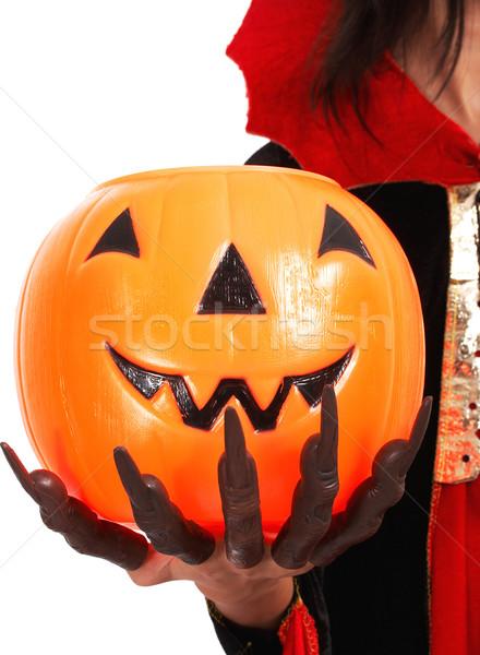 Pumpkin For Trick Or Treat Stock photo © stuartmiles