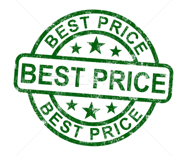 Best Price Stamp Showing Sale And Reduction Stock photo © stuartmiles