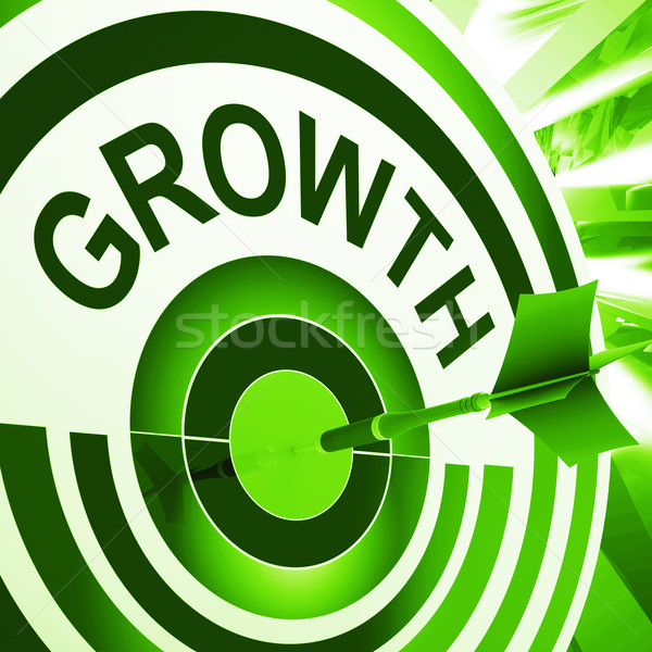 Growth Means Maturity, Growth And Improvement Stock photo © stuartmiles