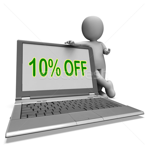 Ten Percent Off Monitor Means Deduction Or Sale Online