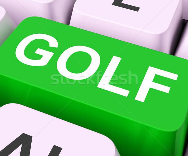 ゴルフ キー ゴルフをする を ゴルファー ストックフォト © stuartmiles