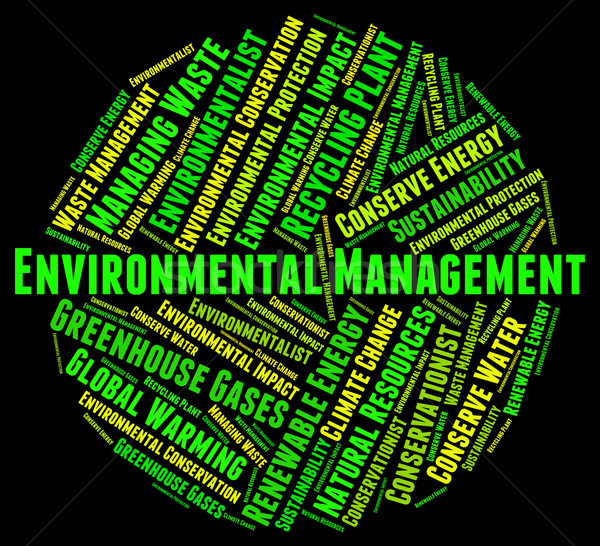 Environmental Management Represents Earth Day And Administration Stock photo © stuartmiles