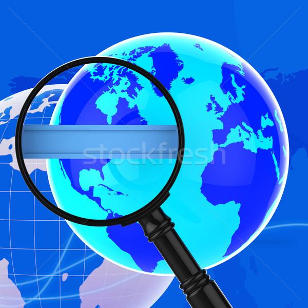 Recherche internet world wide web espace de copie texte espace Photo stock © stuartmiles