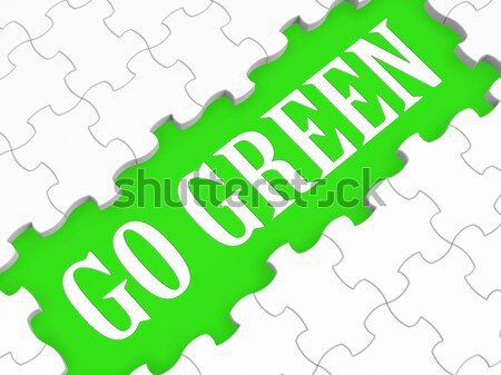 Fan Puzzle online Anhänger Internet Fans Stock foto © stuartmiles