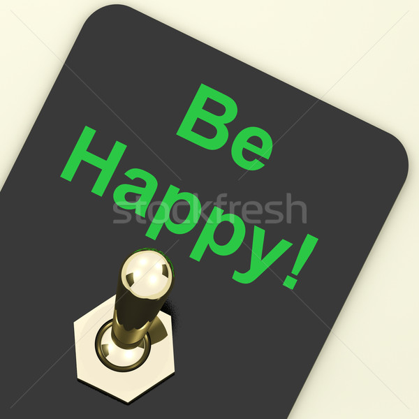 Feliz mudar felicidade gozo Foto stock © stuartmiles