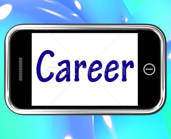 キャリア スマートフォン インターネット 仕事 雇用 検索 ストックフォト © stuartmiles
