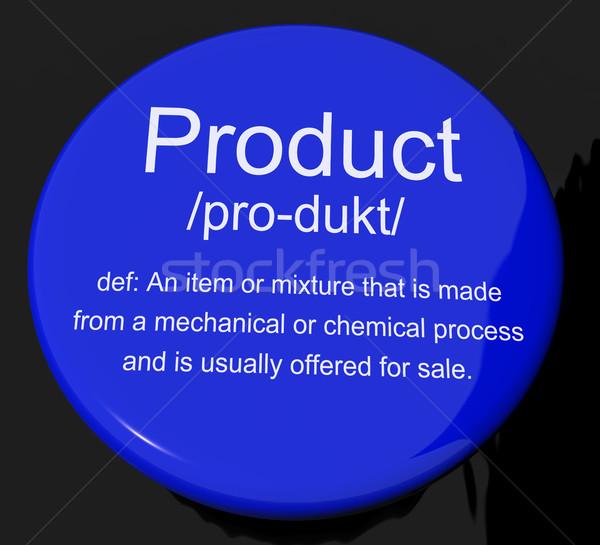 Produkt Bestimmung Taste Waren Verkauf Stock foto © stuartmiles
