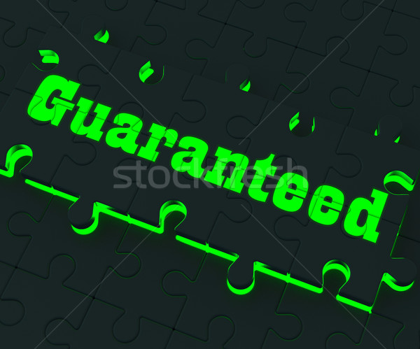 Guaranteed Puzzle Showing Fixed Prices Stock photo © stuartmiles