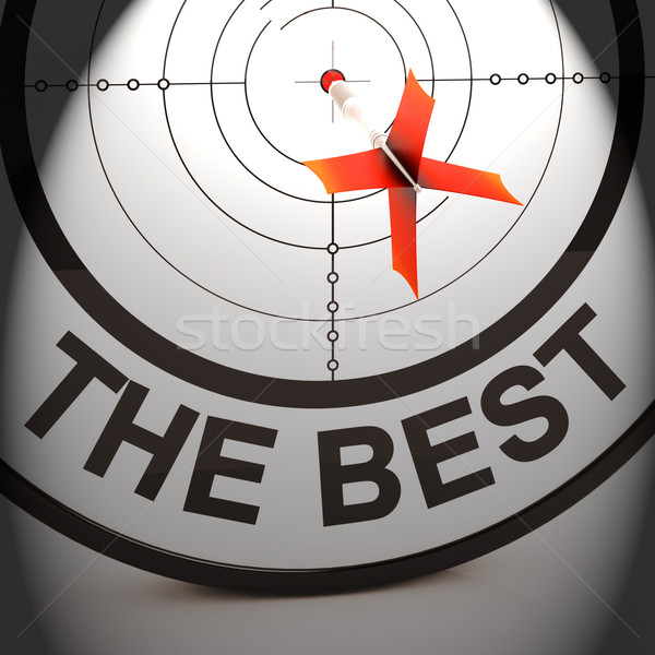 O melhor prêmio vencedor realização bestseller Foto stock © stuartmiles
