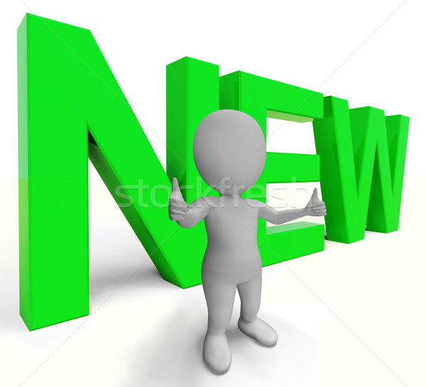 New Word Shows Promotion Or Introductory Offers Stock photo © stuartmiles