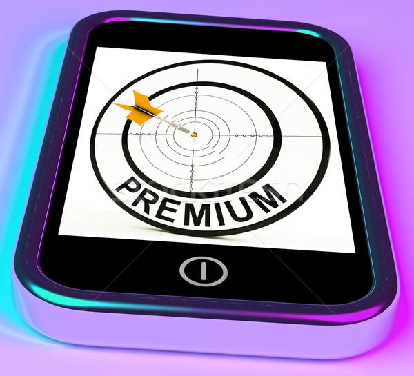 Prima excelente servicios Internet Foto stock © stuartmiles