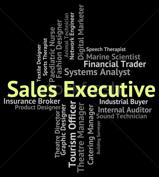 De vendas executivo senior administrador carreira Foto stock © stuartmiles