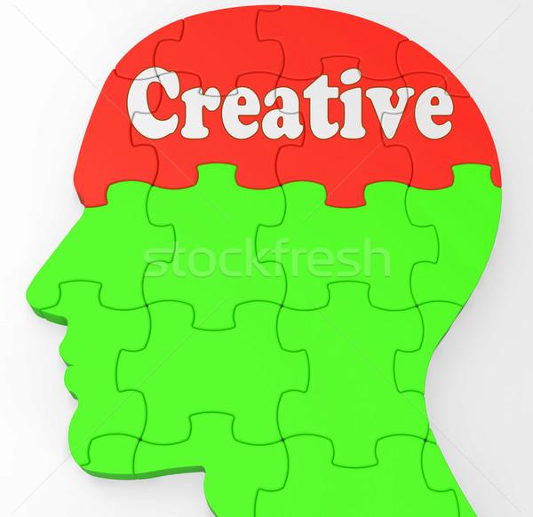 Zdjęcia stock: Twórczej · oryginał · pomysły · artystyczny · projekty · umysł