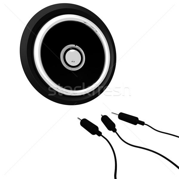 Ses konuşmacı müzik Stok fotoğraf © stuartmiles