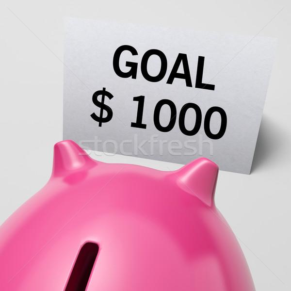Um mil dólares usd meta Foto stock © stuartmiles