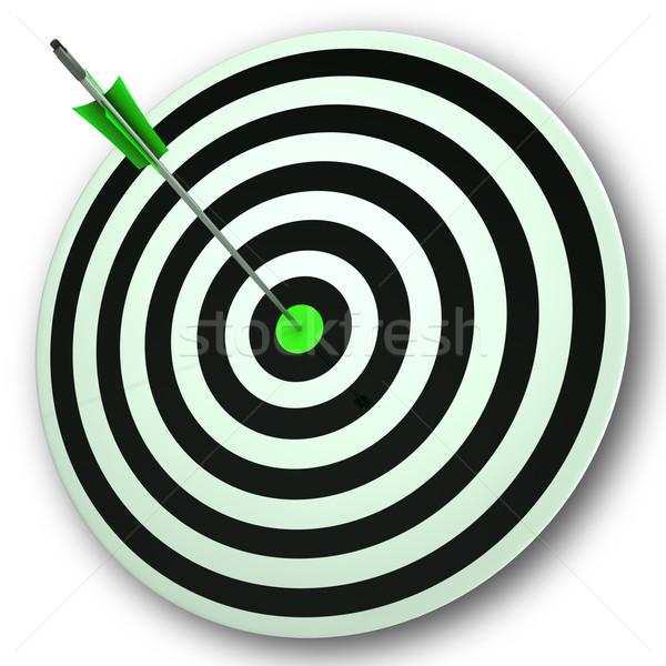Göz hedef mükemmel doğruluk odak Stok fotoğraf © stuartmiles