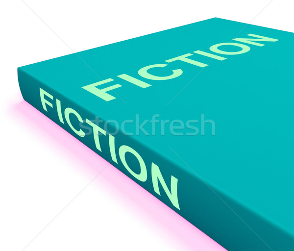 Fiction livre livres imaginaire Photo stock © stuartmiles