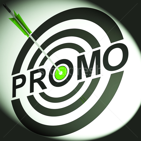 Promo Shows Discounted Advertising Price Offer Stock photo © stuartmiles