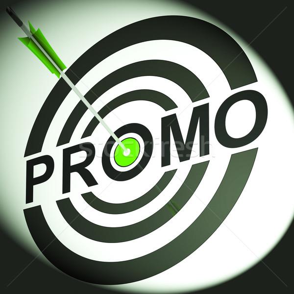 Promo reklam fiyat teklif tanıtım Stok fotoğraf © stuartmiles