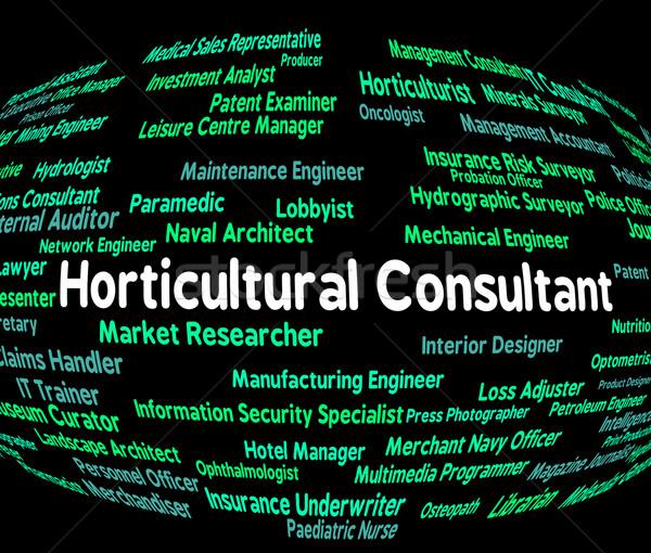 Tanácsadó gazdálkodás alkalmazott mezőgazdasági munka hatóság Stock fotó © stuartmiles