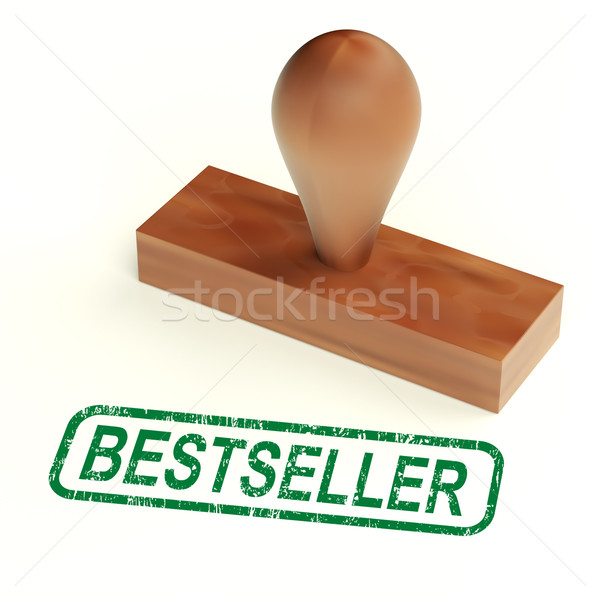 Bestseller Rubber Stamp Shows Best Selling Products Stock photo © stuartmiles