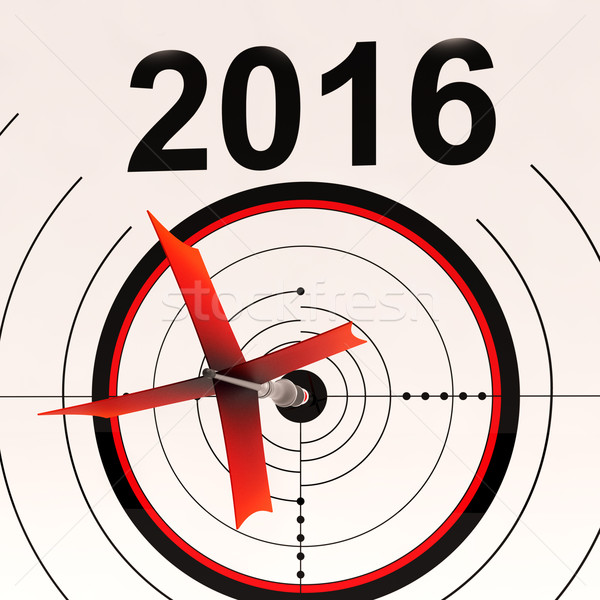 2016 kalender planning agenda schema Stockfoto © stuartmiles
