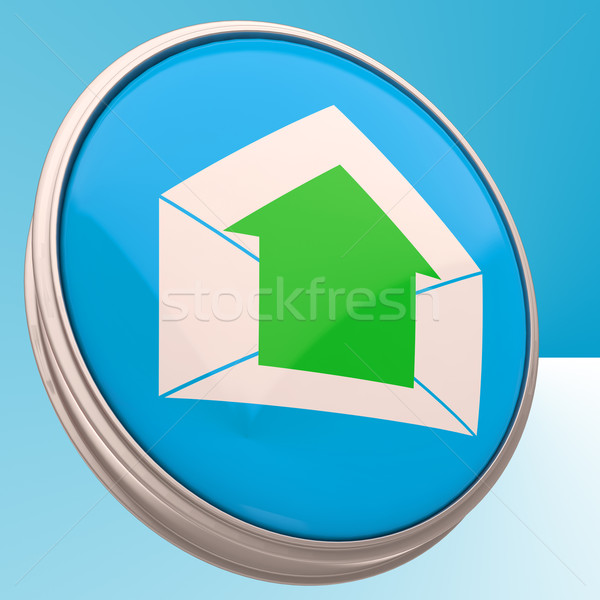 E-mail Symbol Shows Outgoing Electronic Mail Stock photo © stuartmiles
