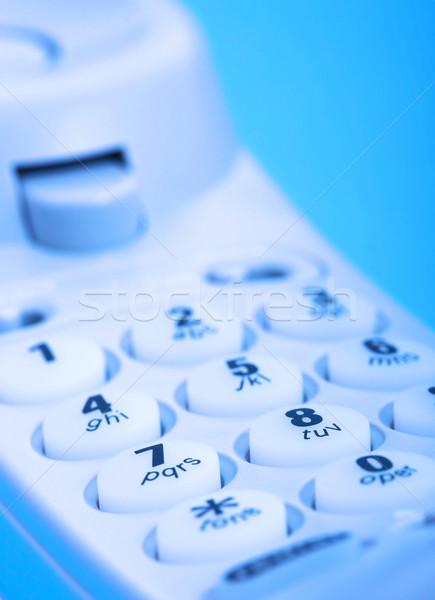 Telephone Handset Close Up Of Dial Stock photo © stuartmiles