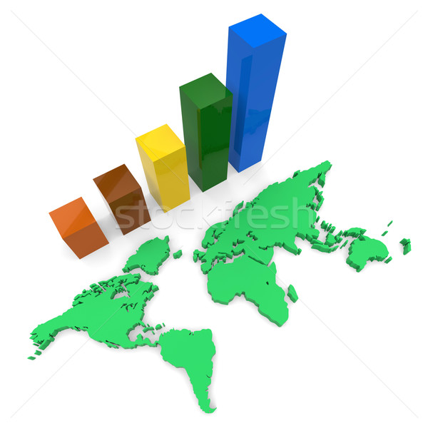 World Wide Growth Shows Raise Gain And Expansion Stock photo © stuartmiles