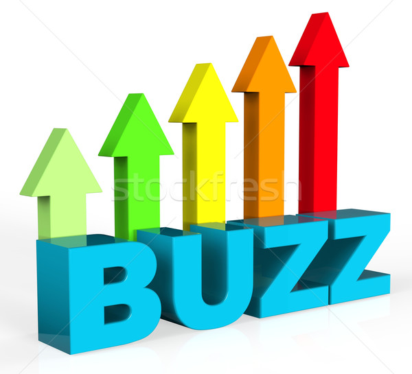 Increase Buzz Shows Advance Success And Improve Stock photo © stuartmiles