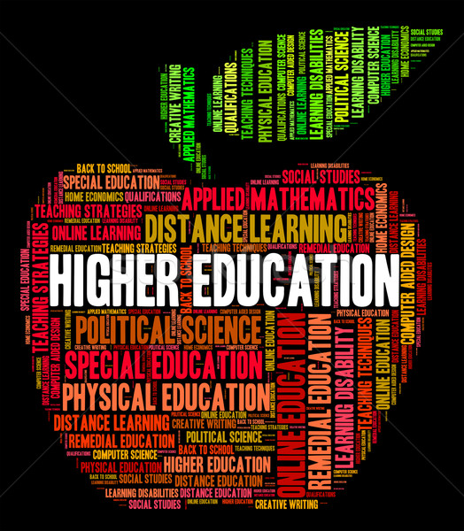 Higher Education Shows Learning Educate And Studying Stock photo © stuartmiles