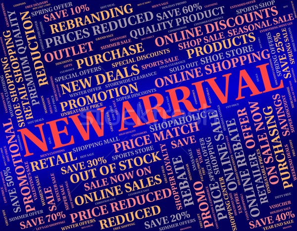 New Arrival Shows Latest Product And Goods Stock photo © stuartmiles