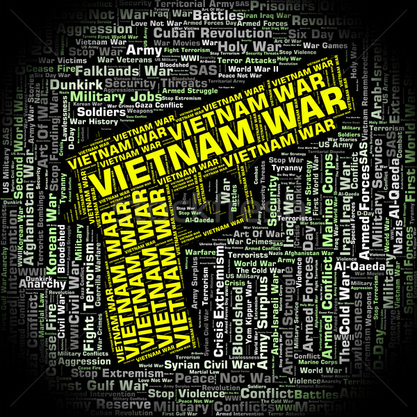 Vietnam War Represents North Vietnamese Army And Combat Stock photo © stuartmiles
