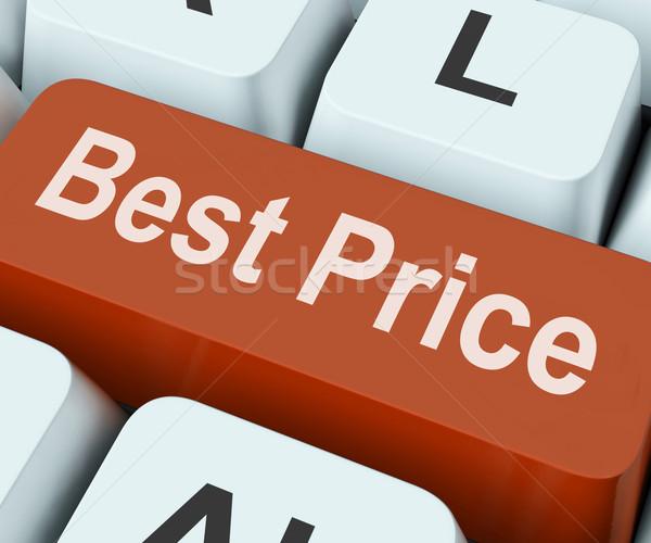 Legjobb ár kulcs árengedmény ajánlat mutat Stock fotó © stuartmiles