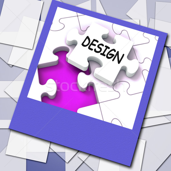 Design Photo Means Online Designing And Planning Stock photo © stuartmiles