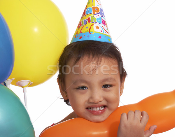 Birthday Party For Cute Girl Stock photo © stuartmiles