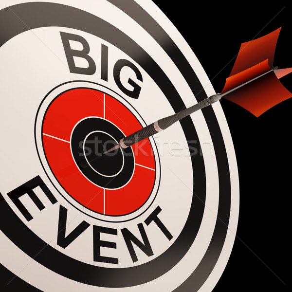 Big Event Target Shows Celebrations And Parties Stock photo © stuartmiles