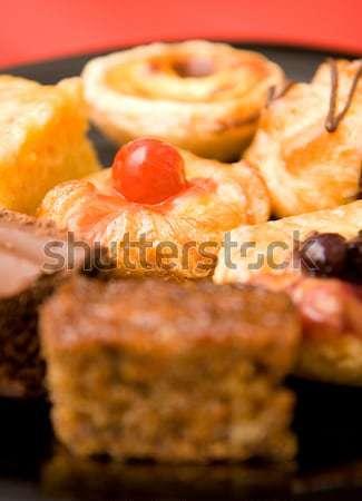 Smaczny tuczący talia żywności Zdjęcia stock © stuartmiles