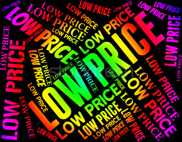 Low Price Represents Special Offer And Sale Stock photo © stuartmiles