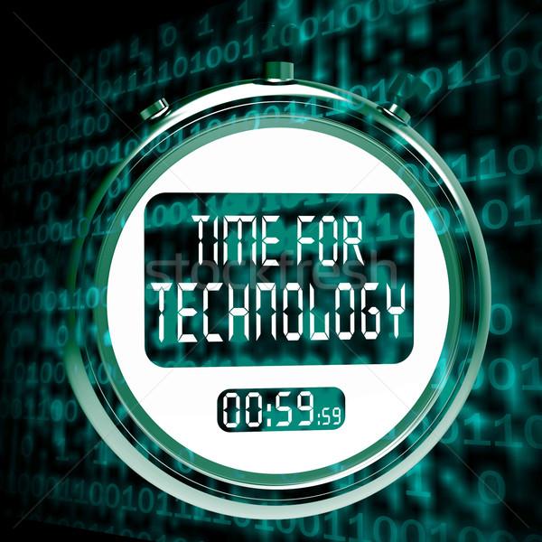 Foto d'archivio: Tecnologia · guardare · touch · screen · innovazione · miglioramento