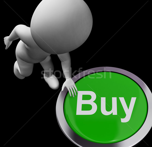 Buy Button For Commerce And Retail Purchasing Stock photo © stuartmiles