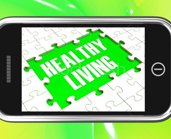 Sağlıklı yaşam sağlık diyet tıbbi bakım Stok fotoğraf © stuartmiles
