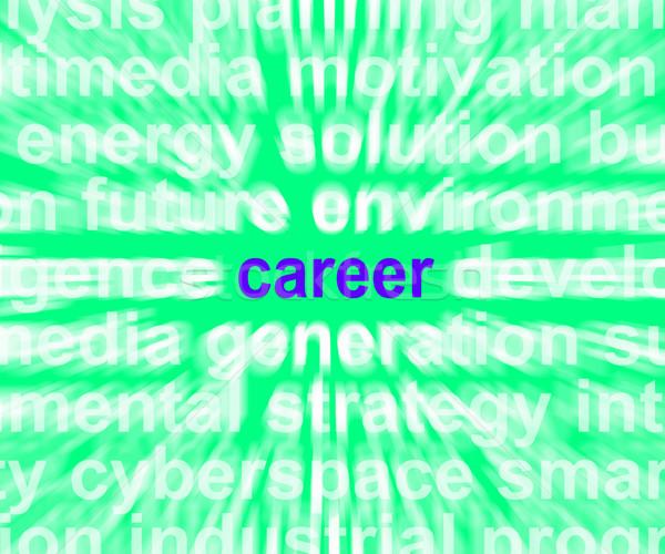 キャリア 言葉 仕事 職業 職業 ストックフォト © stuartmiles