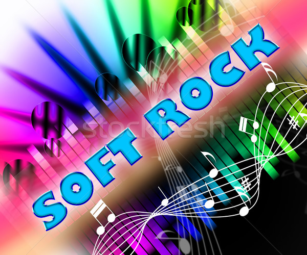 Soft Rock Shows Sound Track And Light Stock photo © stuartmiles
