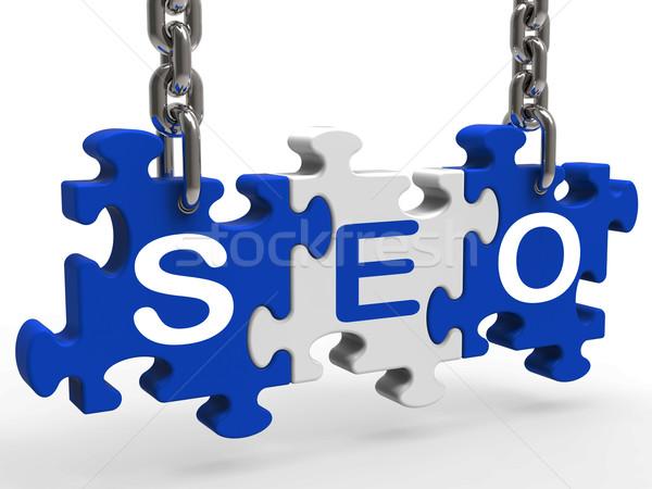 Zdjęcia stock: Seo · promocji · znaczenie · Internetu · silnika