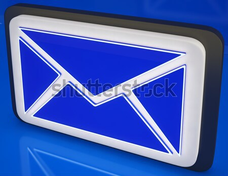 Check Mark On Smartphone Shows Affirmative Facts Stock photo © stuartmiles