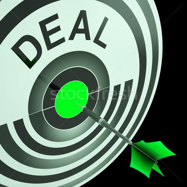 Deal Shows Reduction or Bargain Stock photo © stuartmiles